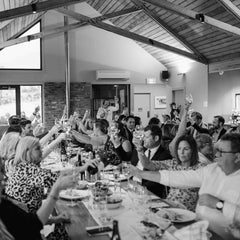 Book your next dinner, party, function or celebration at Bangor Vineyard Shed