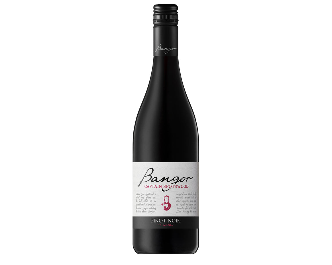 Bangor Captain Spotswood Pinot Noir - Award Winning Tasmanian Red Wine