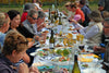 Enjoy Tasmanian Bangor wine with family and friends.