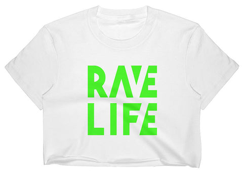 RAVE LIFE Crop Top