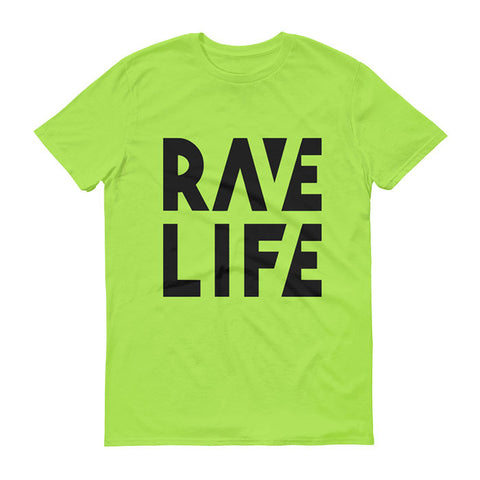 RAVE LIFE Neon T-Shirt Men