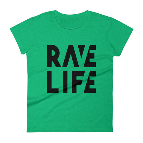 RAVE LIFE Neon T-Shirt Women