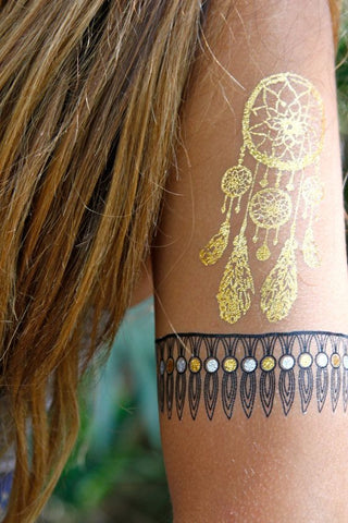 Dream Catcher Temporary Tattoos