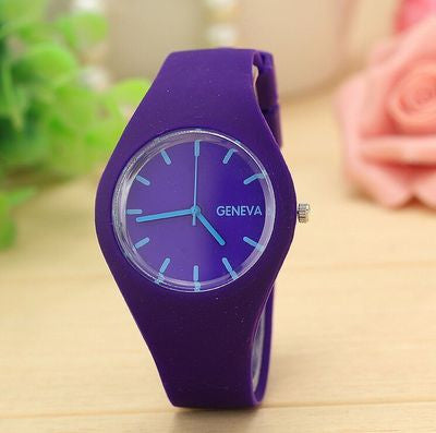 Geneva Silicon Wrist Watch