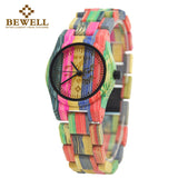 Bamboo Wood Watch by Bewell
