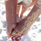 Royal Cuff Temporary Tattoos