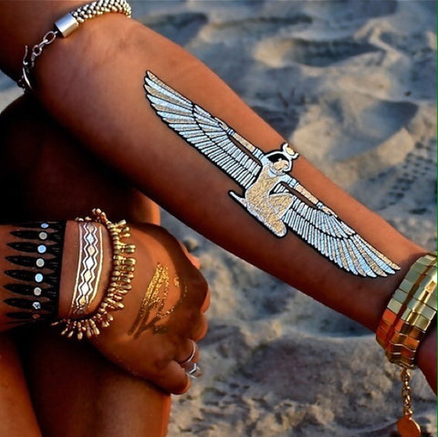 Egyptian Goddess Temporary Tattoos