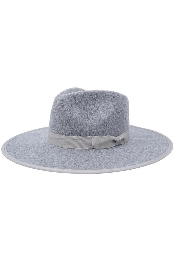 Barry Fedora Hat - Grey