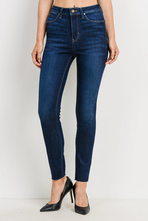 Astrid Dark Denim High Rise Skinny Jean