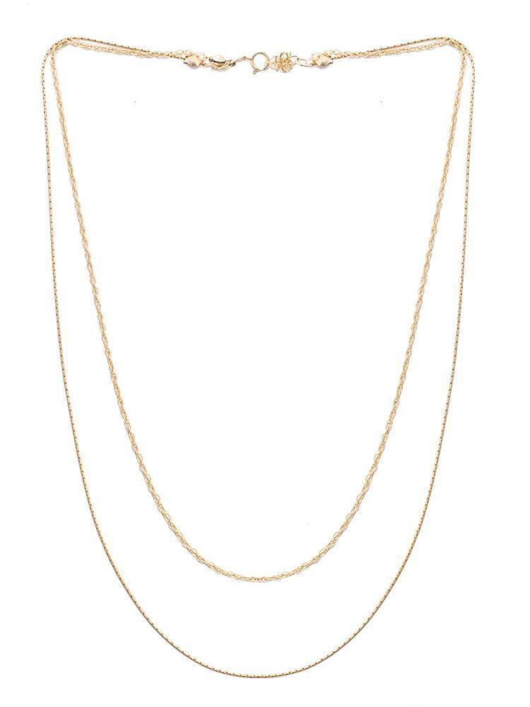 Josephine Layered Necklace - Gold-filled