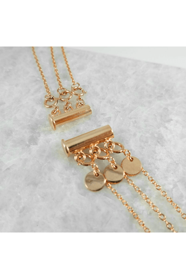 Necklace Separator - Gold-Filled