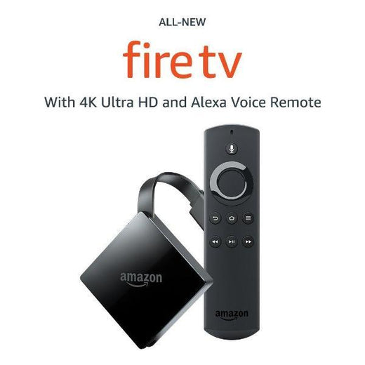 Fire TV w/ 4K Ultra HD & Alexa Voice Remote Streaming Media Player
