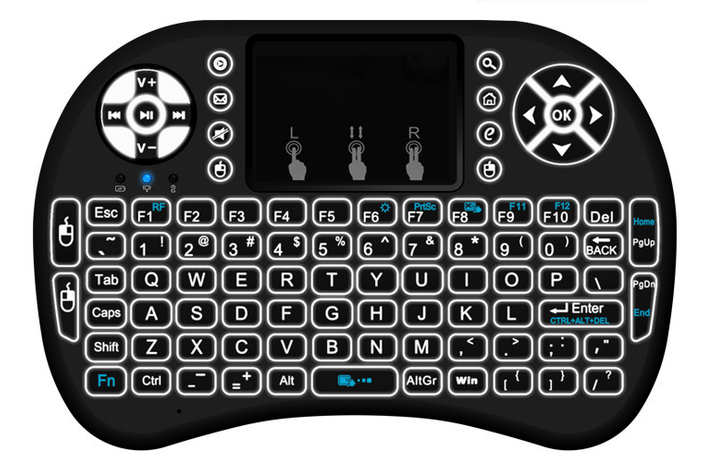 Android Backlit Keyboard Remote - Project Cordless