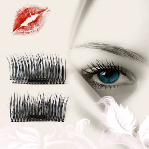 1 Pair 3D Magnet False Eyelash