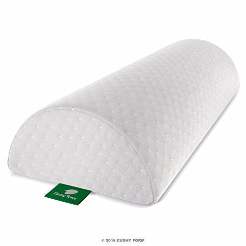 Back Pain Relief Half-Moon Bolster / Wedge