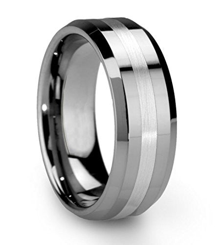 King Will Men's 8mm Tungsten Carbide Ring - Xamns