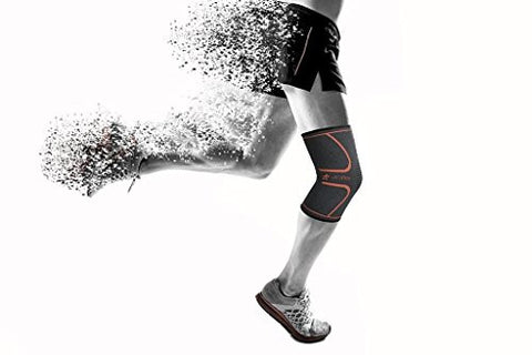 Ultra Flex Athletics Knee Compression Sleeve Support