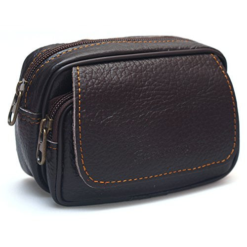 Mens Leather Bum Bag - Xamns