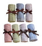 Bamboo Baby Washcloths 7 Fairy Wish Pack,
