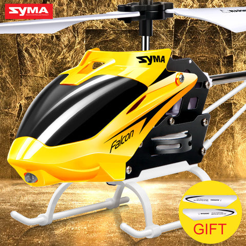 Syma W25 RC Helicopter 2 Channel Indoor Mini RC Drone with Gyro Radio Control
