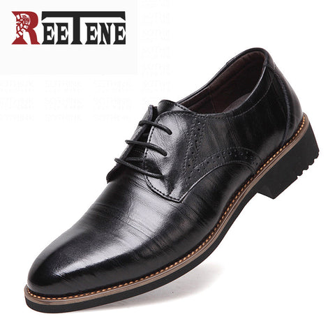 100% Genuine Leather Mens Dress Shoes