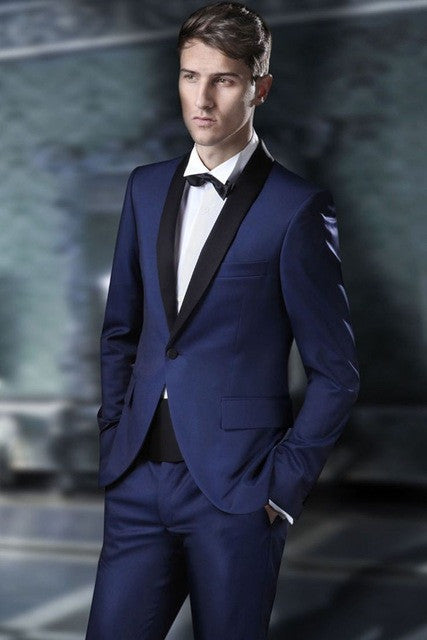 Double Breasted Men's Wedding Suits