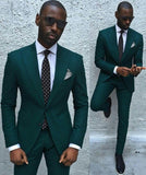 Elegant Custom Made One Buttons Tuxedos Jacket Pants Tie