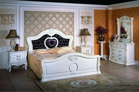 Manual Solid Wood Bed