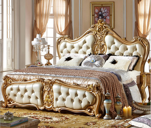 King Size Bed Modern Classic