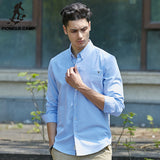 New Fashion Men Shirt Long Sleeve - Xamns
