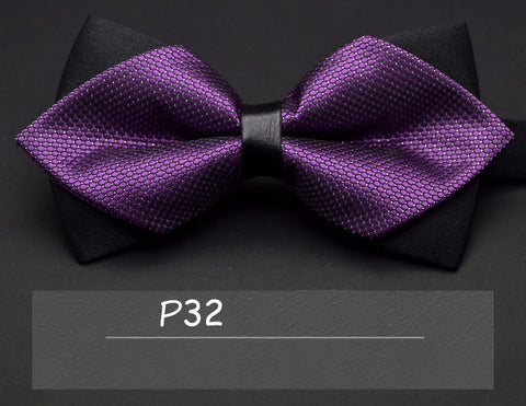 2016 high-grade newest butterfly knot men's accessories bow tie black red cravat formal commercial suit wedding ceremony - Xamns