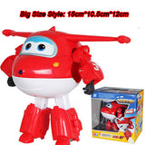 Super Wings Deformation Airplane Robot Action