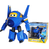 Big!!!15cm ABS Super Wings Deformation Airplane Robot Action Figures Super Wing Transformation toys for children gift Brinquedos - Xamns