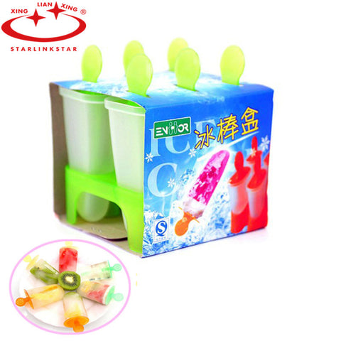 6 Cell Frozen Ice Cream Pop Mould - Xamns