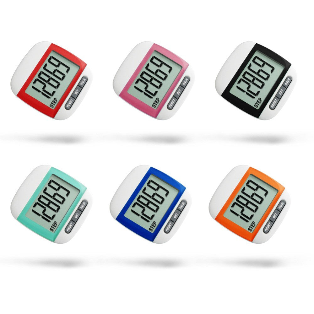 Waterproof Step Movement Calories Multi-Function Pedometer