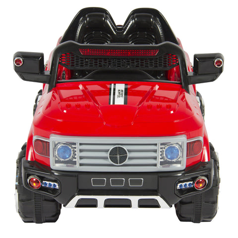 12V MP3 Kids Ride on Truck Car R/c Remote Control, LED Lights - Xamns