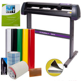 USCutter Vinyl Cutter Best Value Sign Decal Making Kit w/Design Cut Softwr -SALE