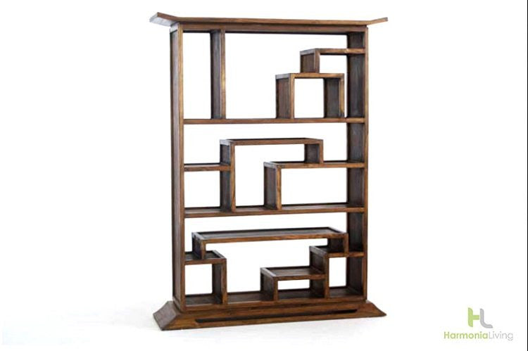 Kondo Mahogany Bookcase - Skylar's Home and Patio