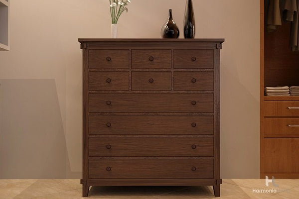 Tropical 10-Drawer Chest