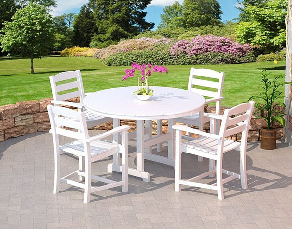 POLYWOOD® 5 Pc. La Casa Café Dining Set - Skylar's Home and Patio