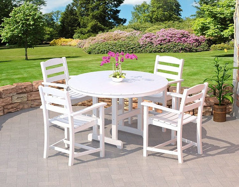 Polywood Dining Set San Diego: POLYWOOD® 5 Pc. La Casa Cafe Dining Set