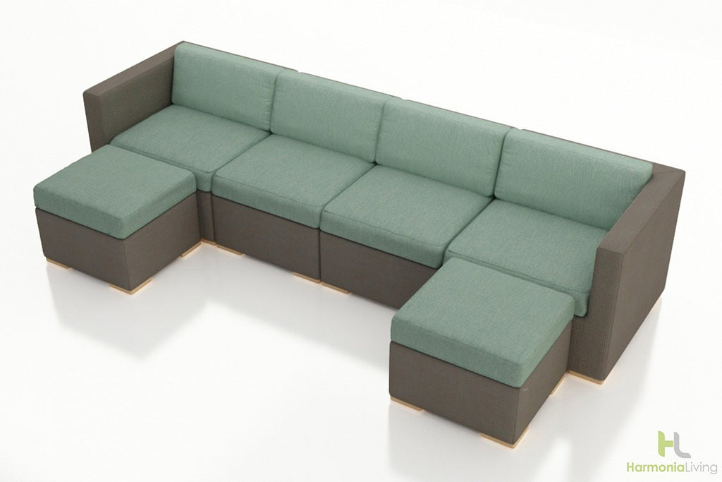 Element 6 Pc. Lounge Sectional Set - Skylar's Home and Patio