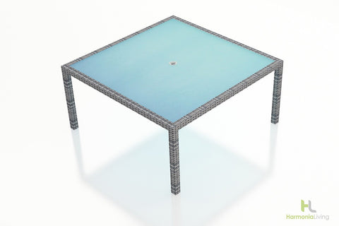 District 8-Seater Square Dining Table - Skylar's Home and Patio