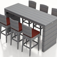 District 7 Pc Bar Set - Skylar's Home and Patio