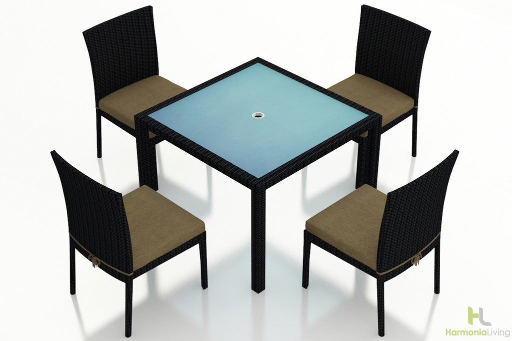 Urbana Coffee Bean 5 Pc Dining Set - Skylar's Home and Patio