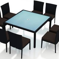 Urbana Coffee Bean 9 Pc Square Dining Set