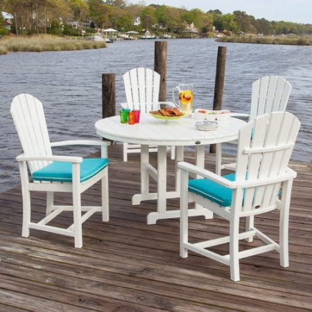 Polywood Palm Coast 5 pc. Dining Set - Skylar's Home and Patio