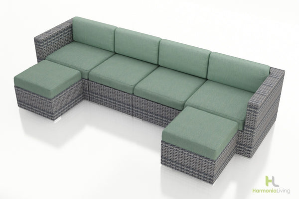 District 6 Pc. Sectional Set