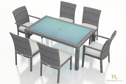District 7 Pc Dining Set - Skylar's Home and Patio