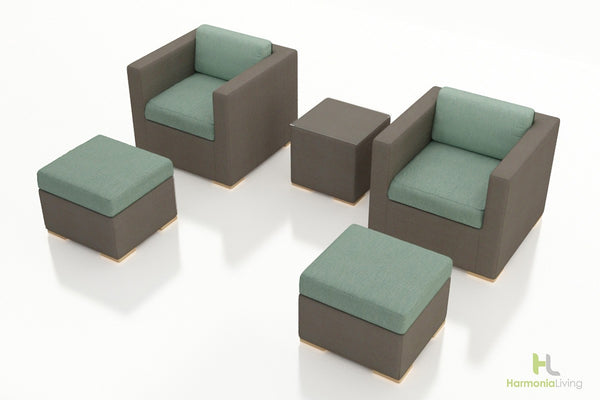 Element 5 Pc Club Chair Set